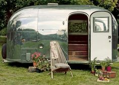 vintage campers - Bambi Airstream