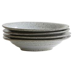 House Doctor Danish Bowl in Rustic Grey 25 Cm : Rustic, Danish crockery by House Doctor. The soup bowl/plate is also perfect for pasta and salads as well as a serving dish for family-style meals.  Note: the nature of this plate means that no two are the same and imperfections to the surface are not flaws, they are part of the design.