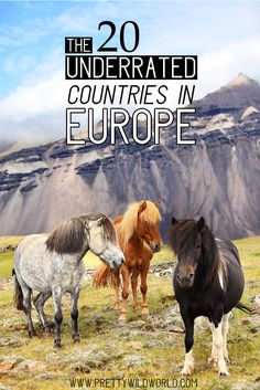Underrated countries in Europe Underrated travel destinations Europe travel tips Travel bucket list Travel inspiration wanderlust Europe tips Europe travel destinations Backpacking Europe, Europe Travel Guide, Europe Destinations, Travel Guides, Travelling Tips, Travel Hacks, Travel Essentials, New Travel, Travel List