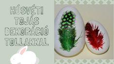 Húsvéti ötletek. Tojás dekoráció tollal #húsvétiötlet #húsvétitojás