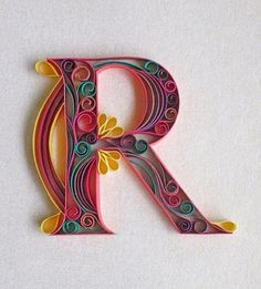 """""""R"""" by @sabeenu  #Goodtype #StrengthInLetters by goodtype"""
