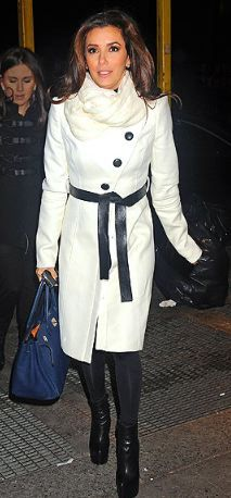 Purse - Hermes Coat - Rachel Zoe  love that coat...