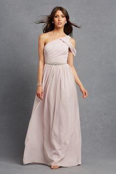 """Chloe"" Bridesmaid Dress   Article: Glitzy Bridesmaid Dresses Your Girls Will Want to Wear Again   Photography: Courtesy of Donna Morgan   Read More:  http://www.insideweddings.com/news/fashion/glitzy-bridesmaid-dresses-your-girls-will-want-to-wear-again/1998/"