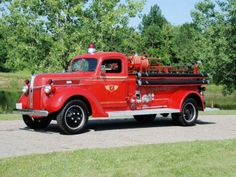 1941 Ford Model 119T Firetruck by Seagrave
