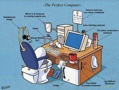 Computer Humor - The Perfect Computer Computer Humor, Best Computer, Computer Programming, Computer Science, Computer Coding, Python Programming, Computer Technology, Technology Humor, Computer Engineering