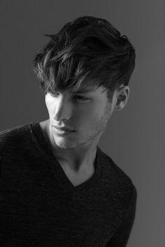 La moda en tu cabello: Cortes de pelo con flequillo para hombres 2016
