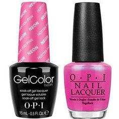 OPI Gelcolor + Matching Lacquer