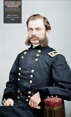 Brevet Major General Alfred Thomas Archimedes Torbert (USA) Torbert was born in Georgetown, Delaware on 1 July He graduated in a class of Face Mapping, Union Army, Major General, America Civil War, Civil War Photos, Body Organs, Military History, New Trends, American History