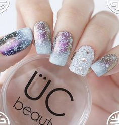 42 Snow Nail Art Ideas For Winter Almond nails, oval nails, square nails, longer or shorter – all are allowed. Winter Nail Art, Autumn Nails, Winter Nails, Winter Art, Winter Ideas, Snow Nails, Red Nails, Best Nail Art Designs, Winter Nail Designs