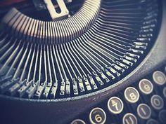 Brieven, Schrijfmachine, Vintage
