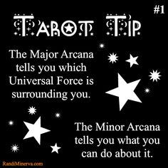 For more info, visit the blog: http://randiminerva.com/2013/07/03/tarot-tip-1/