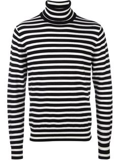 Ps By Paul Smith striped turtleneck jumper Striped Turtleneck, Sweater Shirt, Turtle Neck Men, Paul Smith, Black Stripes, Ps, Menswear, Sweaters, Sweater