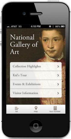 Your Art mobile app from the National Gallery of Art