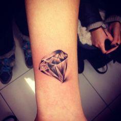 Diamond tattoo :)