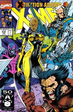 Cover for The Uncanny X-Men (Marvel, 1981 series) #272