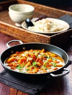 Red Prawn and Mango Curry by Nigella. One of my favourite recipes. So easy, so healthy and (even more important) so rich in flavour! Curry Recipes, Fish Recipes, Seafood Recipes, Indian Food Recipes, Asian Recipes, Cooking Recipes, Healthy Recipes, King Prawn Recipes, Recipies