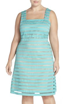 Adrianna Papell Banded Illusion Fit