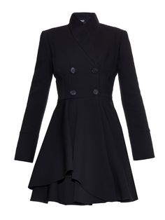 Double-breasted wool-blend coat | Alexander McQueen | MATCHESFASHION.COM UK