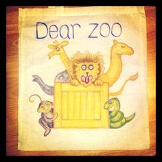 My friend Messy Mummy made parcels with each animal in when she used this with her son - so cute. Dear Zoo, Story Sack, Sacks, Little Ones, My Friend, Activities, Cute, Animals, Animales