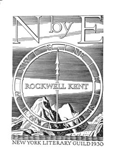 Title page N by E by Rockwell Kent. His adventures in Greenland.
