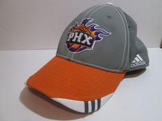 ADIDAS Hat PHOENIX SUNS Adult Men s NBA Basketball PHX Fitted Gray Orange  Cap  Adidas  PhoenixSuns 536c5bb7b25b