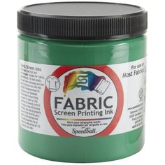 Speedball Art Products Fabric Screen Printing Ink, 8-Ounce, Green, 2016 Amazon Most Gifted Printmaking  #Arts-And-Crafts