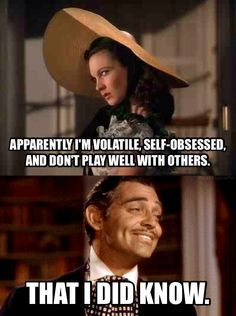 Gone With The Wind on Pinterest | Rhett Butler, Meme and Printable ...