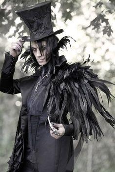 Raven Costume I've always pictured severus as a raven animagnus