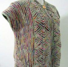 Make Gradient Baby Vest - Knitting Crafts - # WORKS . Gradient baby vest making – knitting craft – # AFFAIRS the Crochet Jacket, Knit Crochet, Tunisian Crochet, Crochet Flower Patterns, Knit Patterns, Knitting Designs, Knitting Projects, Knitting Ideas, Knitting Machine Patterns