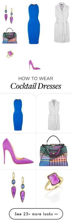 """# 51"" by dominique-a on Polyvore featuring Topshop, Christian Louboutin, Fendi, Victoria Beckham, Ila, topshop, fendi, Louboutin, victoriabeckham and topset"
