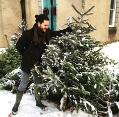 "15k Likes, 53 Comments - Kit Harington (@kitharingtonoff) on Instagram: ""Kit is in Scotland Winter is here ❄️"""