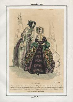 La Mode November 1841 LAPL