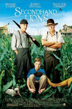 #SecondHandLions - easy to dismiss, but a very meaningful movie.