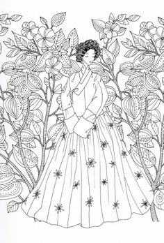 Fashion coloring page Fashion Coloring Pages for Adults
