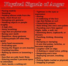 physical reaction to fear - Google Search