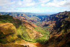 Waimea Canyon  ワイメア渓谷