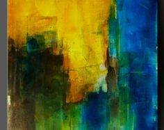 Threshold - 24 x 24 - Abstract Acrylic Painting - Contemporary Wall Art Fine Art Modern