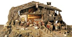 Nativity Stable, Diy Nativity, Christmas Manger, Dremel, Wood Art, Diorama, Christmas Decorations, Cribs, House Styles