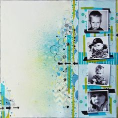 A layout from Justyna