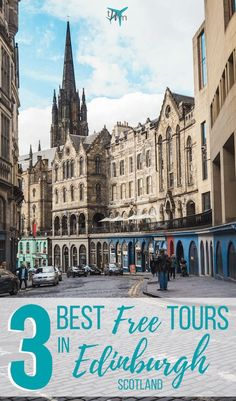 Planning a trip to the beautiful city of Edinburgh, Scotland? Are you on a budget or just need something to do? Check out this list of the 3 best free tours in Edinburgh! #travel #edinburgh #scotland #budgettravel #freetours #tours