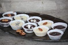 Šuhajdy orechové, kokosové a makové - recept postup 1