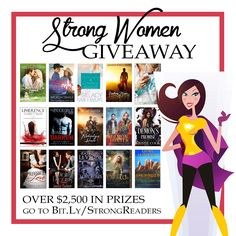 Enter 2 WIN 1 of Many Prizes in the Strong Women Giveaway http://www.melstorm.com/giveaways/strong-women-giveaway/?lucky=1076 VERY EASY to Enter Answer is #3