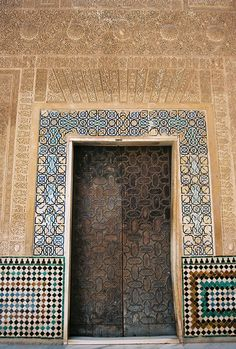 Alhambra Door | photography by http://carolynannphotography.wordpress.com/
