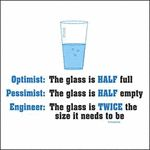 The glass according to an engineer