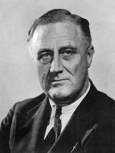 "Franklin Delano Roosevelt...""The only thing we have to fear, is fear itself""...smart man..."