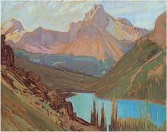 Cathedral Peak, Lake O'Hara, J.E.H. MacDonald