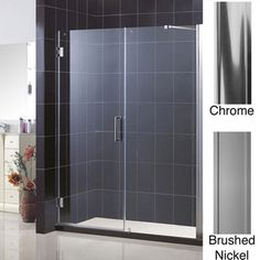 @Overstock - The Unidoor shower door collection is available in a range of sizes to accommodate shower openings from 23 to 61 inches. The Unidoor shower door combines premium 3/8 inch thick tempered glass with a sleek frameless design.http://www.overstock.com/Home-Garden/DreamLine-UNIDOOR-Frameless-Shower-Door-57-61-W-x-72-H/5566483/product.html?CID=214117 $776.30