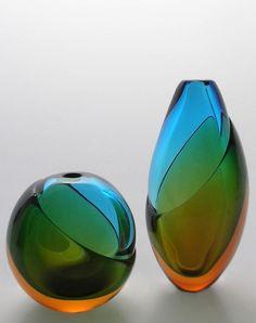 Membrana vases by Jacqueline Terpins