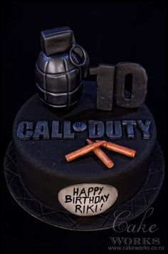 Call of Duty Cake (Baking Cod Thyme)