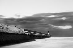 Calais entry lighthouse by Giuseppe Sansonne, via 500px